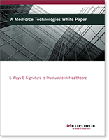 5 Ways E-Signature is Invaluable in Healthcare